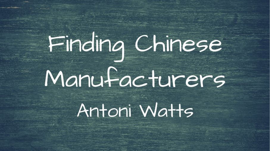 Chinese Manufacturers