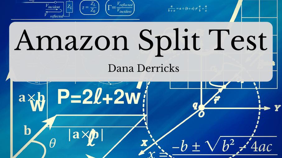 split testing your amazon listing