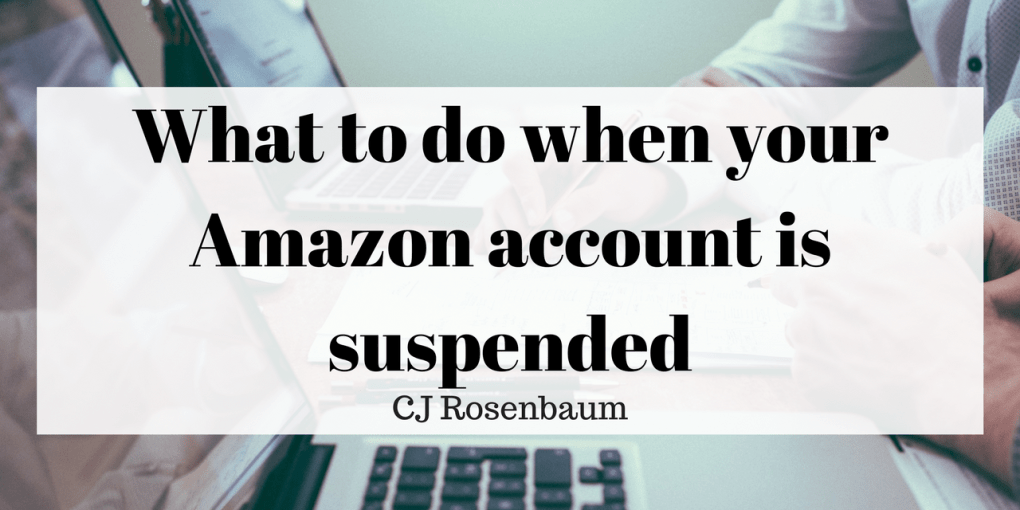 amazon account suspended