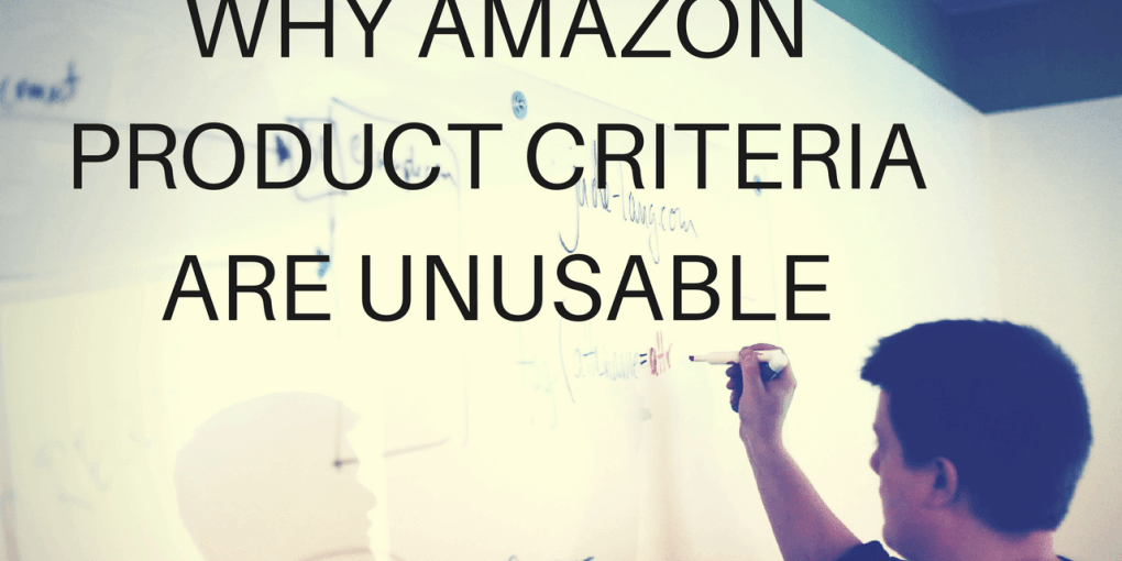 Amazon Product Criteria