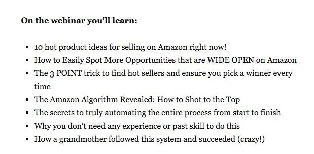 Amazon Course scam