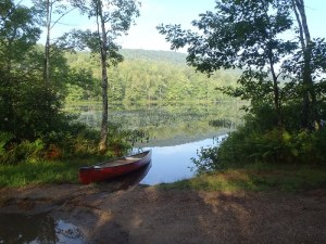 Access point to Spectacle Pond #2