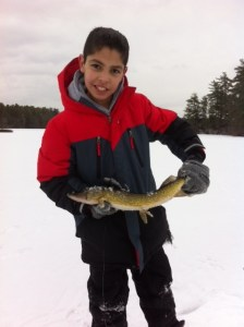 "That's one nice (but rather skinny) 22"" pickerel!"