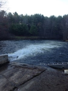 View of Panther Run from the dam