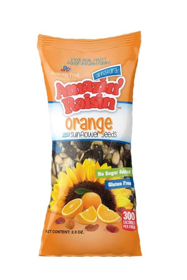 Amazin' Raisin Orange PLUS Sunflower Seeds