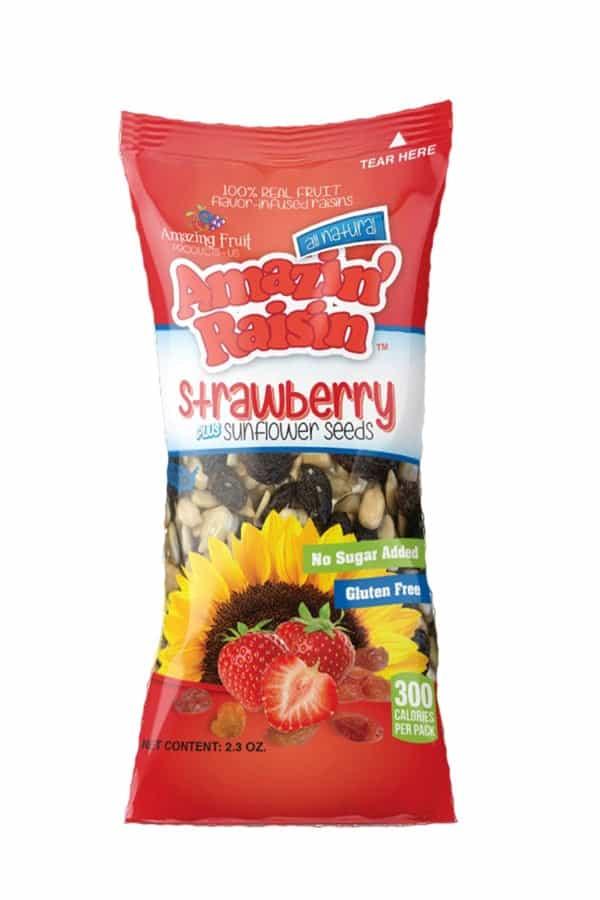 Amazin' Raisin Strawberry PLUS Sunflower Seeds