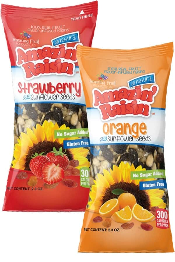 Amazin' Raisin PLUS Sunflower Seeds