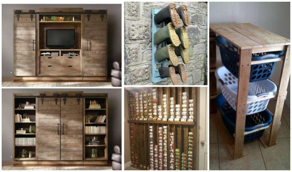 15 Super Creative DIY Pallet Storage Ideas