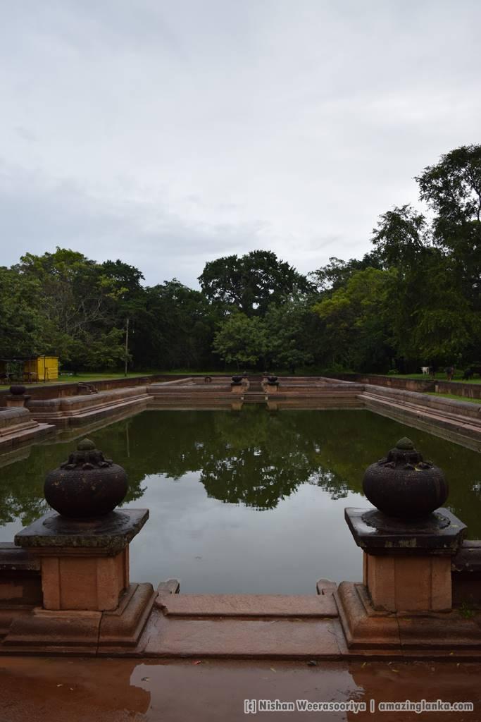 Kuttam Pokuna filled to the brim after heavy showers to Anuradhapura