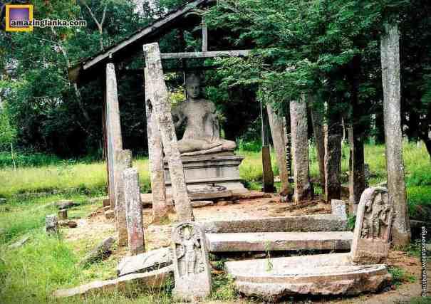 Ruins of Pankuliya Asokaramaya Temple
