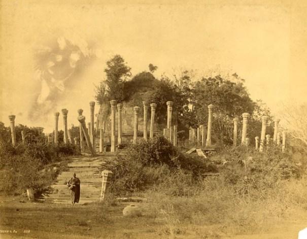 Lankaramaya before restoration – photo taken on late 1800′s or early 1900′s