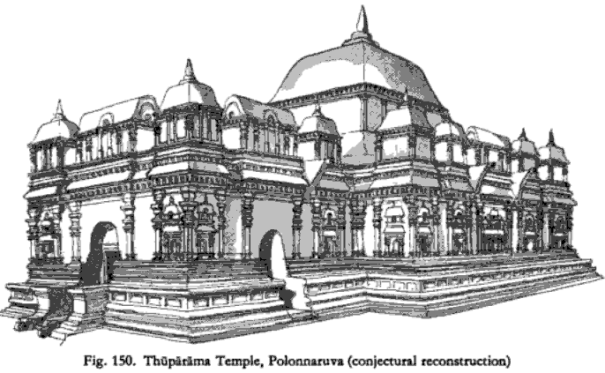 A conjectural construction of the Thuparama Image House