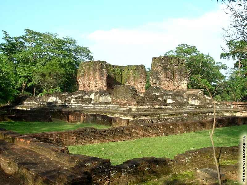 palace of King Parakramabahu