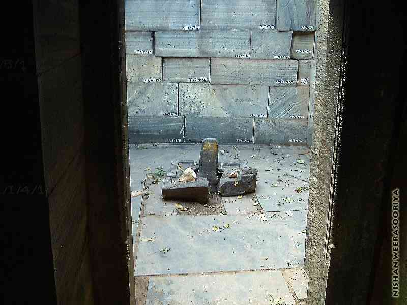 """The """"Shiva Linga"""" (the sex organ of God Shiva) which is worshiped by Hindus"""