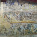 Paintings on the image house in the cave of Hindagala Rajamaha Viharaya