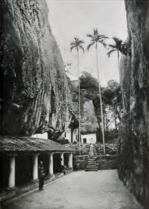 Aluvihare as in 1896 from The ruined cities of Ceylon by Henry W. Cave