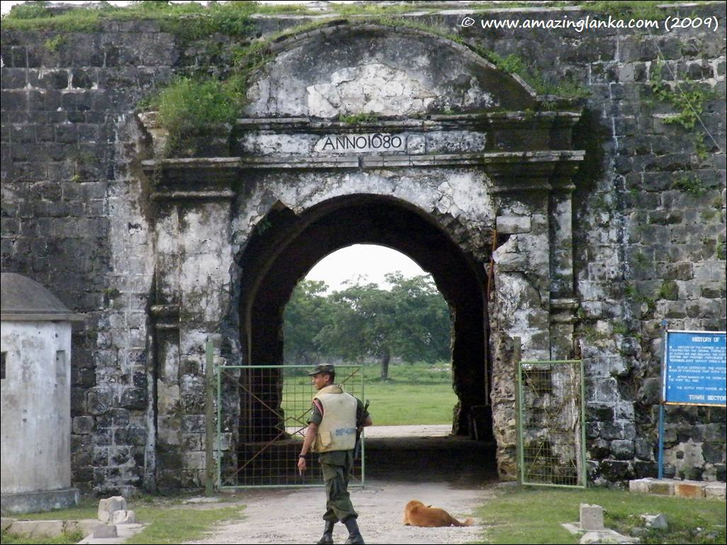 Jaffna Fort - The Entrance to the Fort