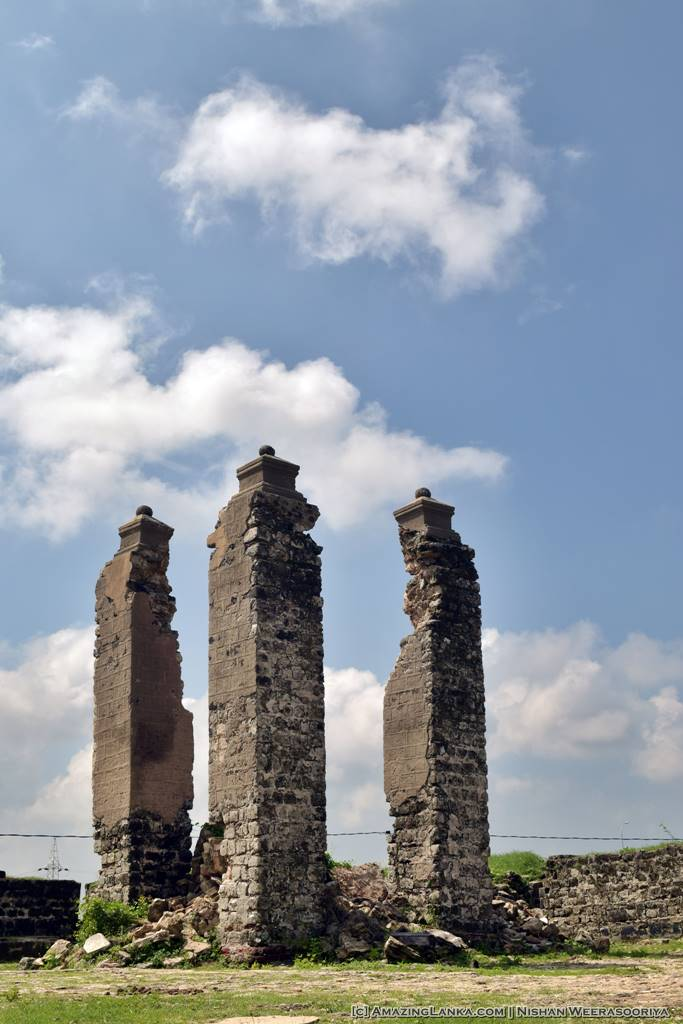 The bell tower of he Mannar Fort