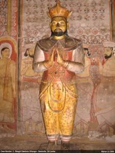 Rangiri Dambulu Viharaya / Dambulla Cave Temple - Cave 3 - Maha Aluth Viharaya King Kirthi Sri Rajasinghe
