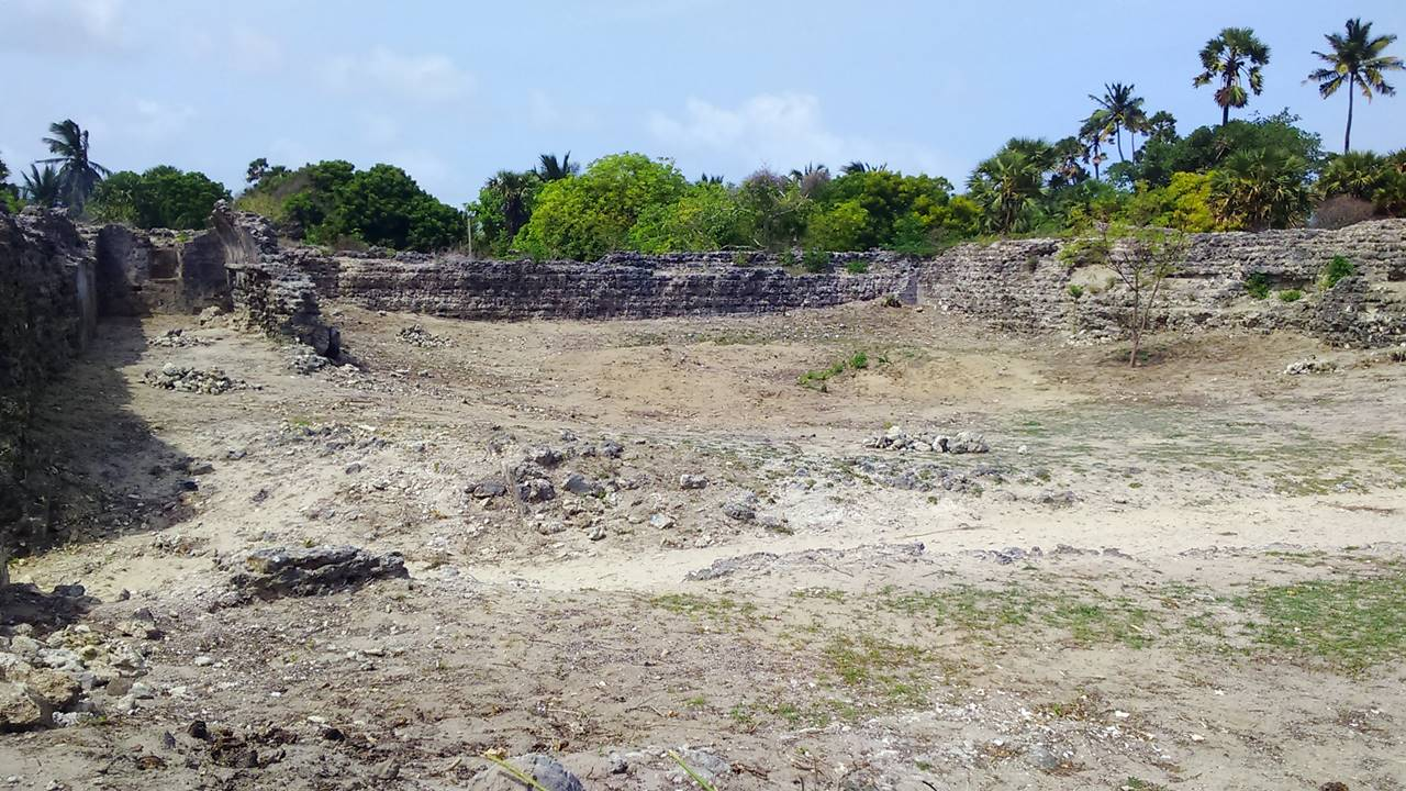 Ruins of Kayts Island Fort