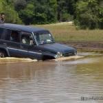 Roads under water near Kokare Vila @ Wilpattu National Park
