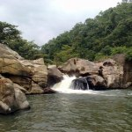 Kuda Doowili Ella above the main Kaltota Doowili Ella Falls