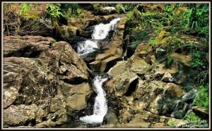Upper section  of Julee Ella Falls