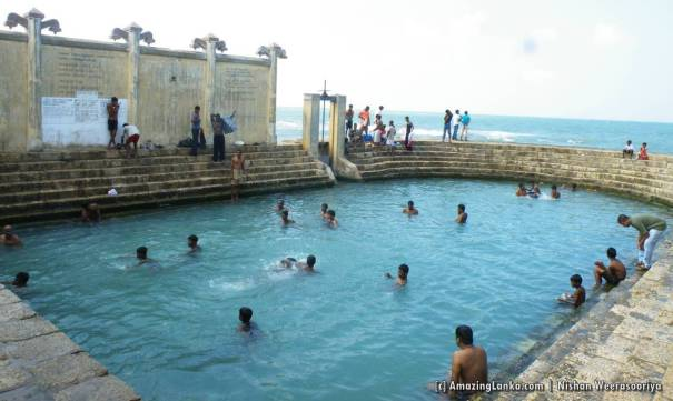 Keerimalai Fresh water Spring in Jaffna