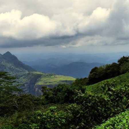 View from Wewalthalawa Plateau