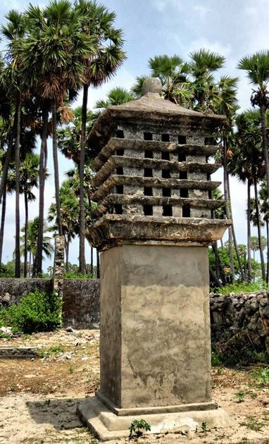 The pigeon house at the Delft Island Fort