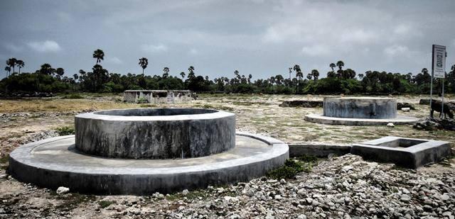 Fresh water wells of Delft island in Jaffna