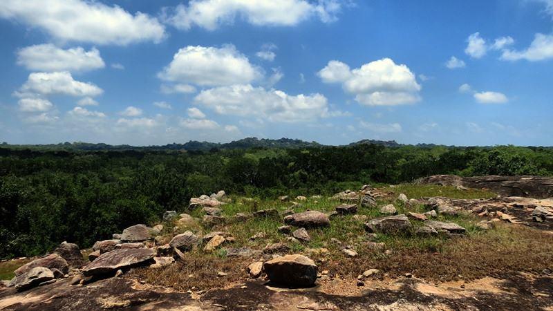 Bowattegala Archaeological Ruins in Kumana