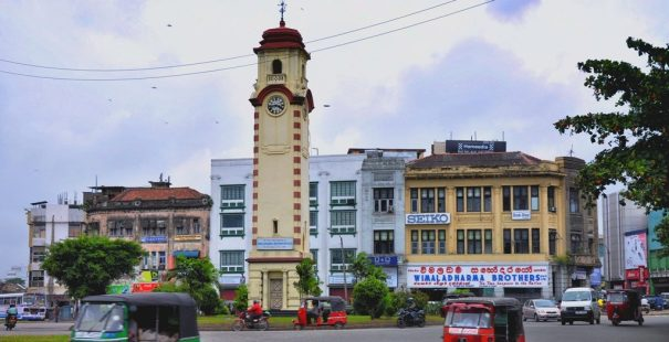 Khan Clock Tower of Colombo in 2011