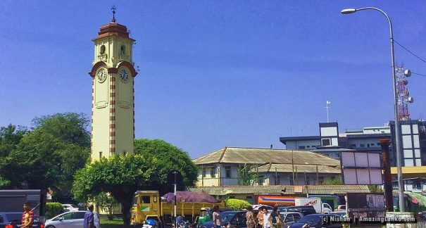 Khan Clock Tower of Colombo in 2016