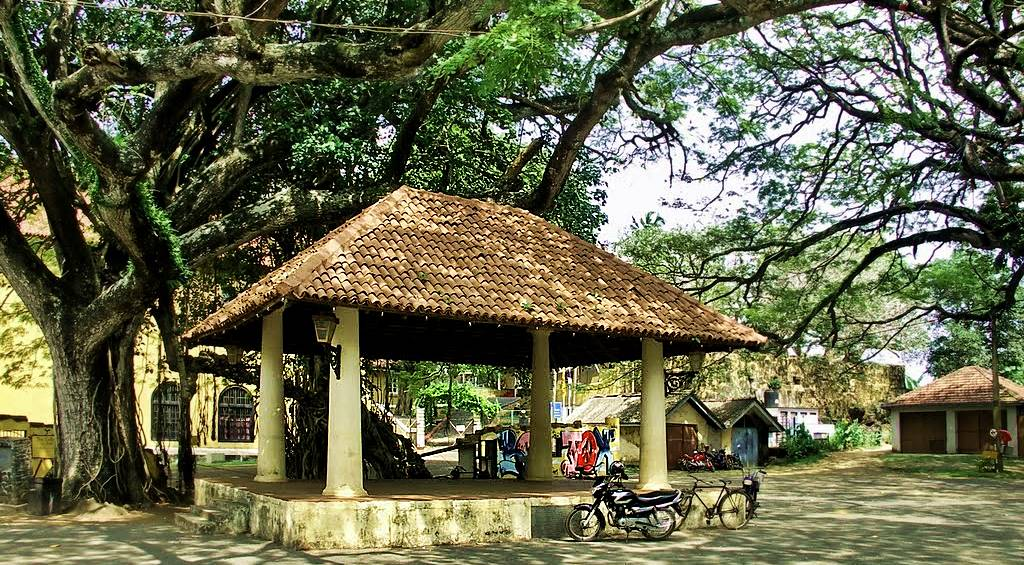 The Ambalama at the Galle Fort Courthouse Square