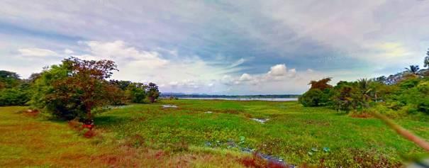 Tempitiya Reservoir on the way to Niyandawaragala Archaeological Ruins in Mahaoya