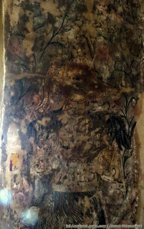 painings inside the Kanugala Sri Pushpapainings inside the Kanugala Sri Pushparama Tampita Viharayarama Tampita Viharaya