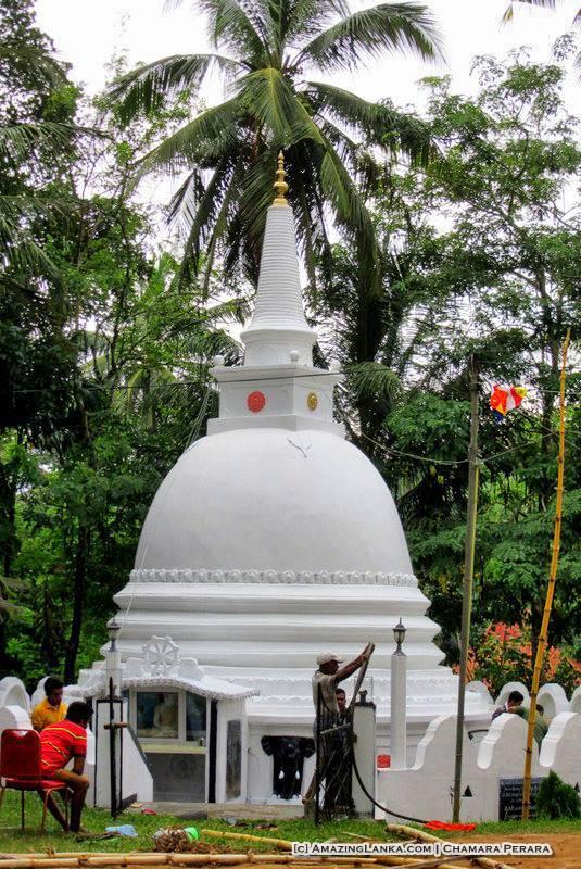 Stupa of the Dembawa Purana Viharaya