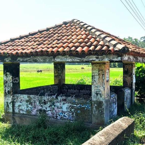 Balabowa Ambalama in Gampaha - ගම්පහ බලබෝව අම්බලම