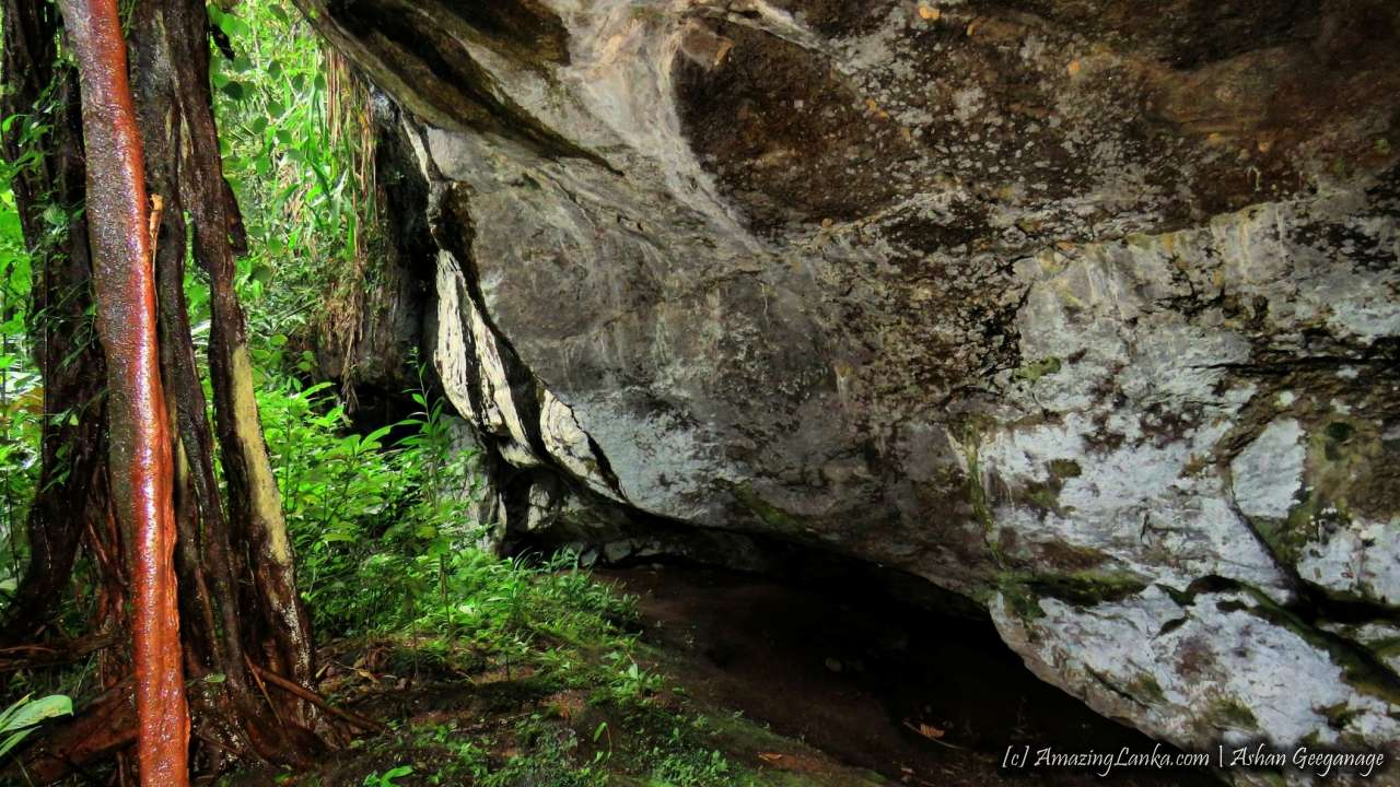 Balangoda Beligallena Prehistoric Caves - බලංගොඩ බෙලිගල්ලෙන ප්රාග් ඓතිහාසික ලෙන