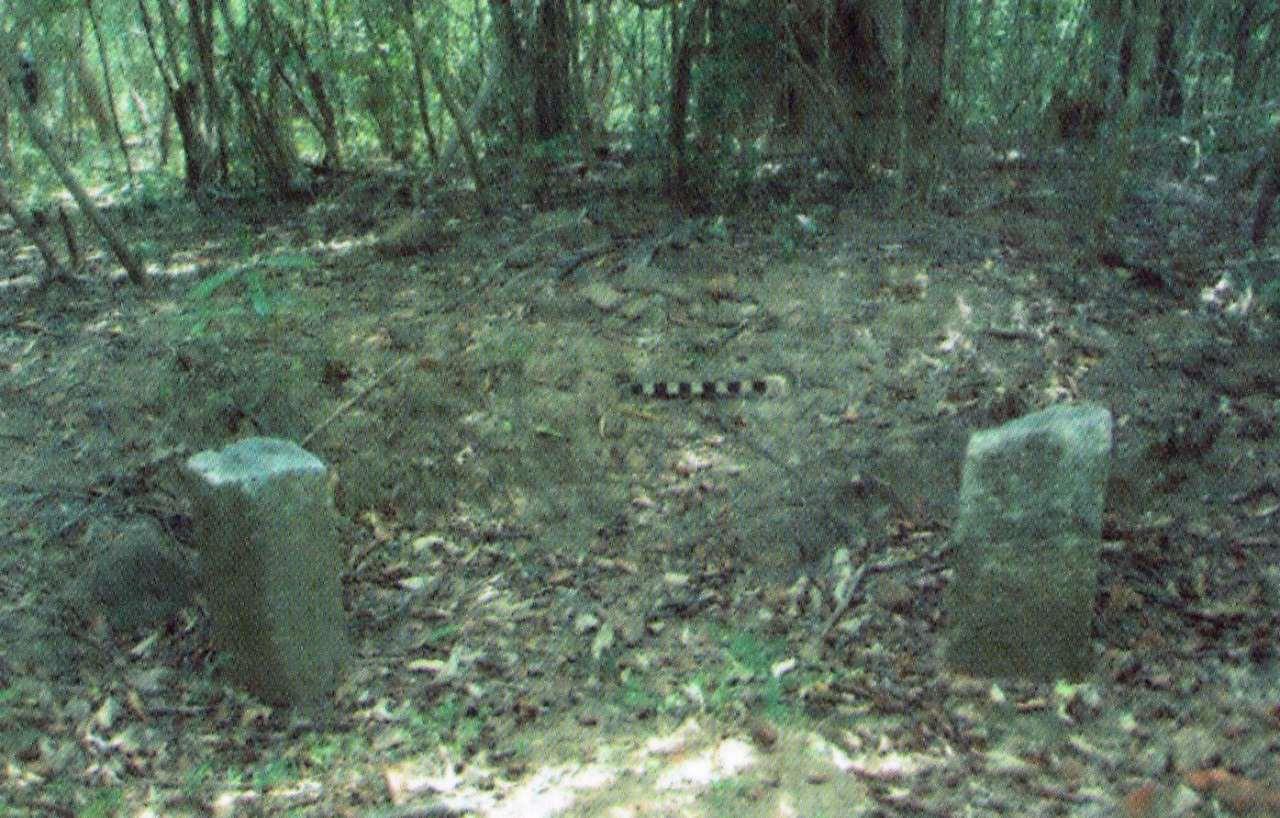 නිදන් සොරුන් විසින් විනාශ කොට ඇති ගල් කණු සහිත ගොඩනැගිල්ල  - මුලතිවු සුගන්ධිපුරම් බෞද්ධ පුරාවිද්යා නටබුන්  -  Sugandhipuram Archaeological Ruins in Mulativu