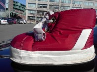 Boston Red Sox Mascot Shoes