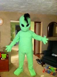 Custom Alien Mascot