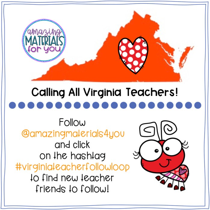 Virginia Teacher Follow - July 2.001