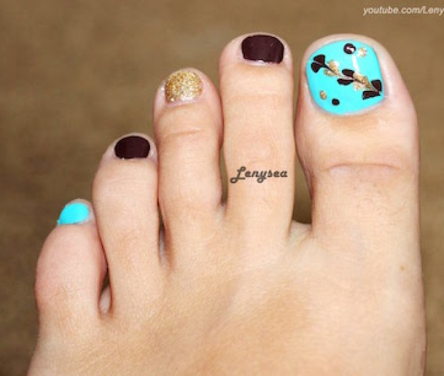 This Nail Art Tutorial Will Give You An Idea On How To Create An Easy Nail Art Idea That Will Will Great For Beginners Click Here For The Products Used And