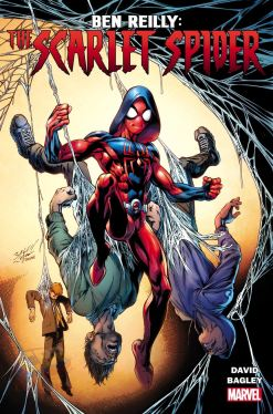 Ben Reilly the Sarlet Spider promo