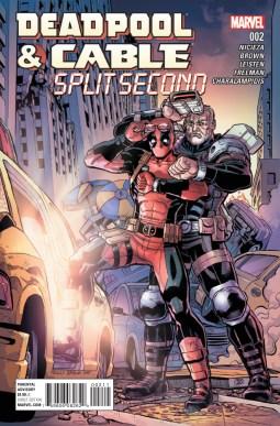 Deadpool Cable Split Second #2