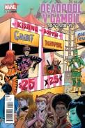 Deadpool vs Gambit #1 Variant
