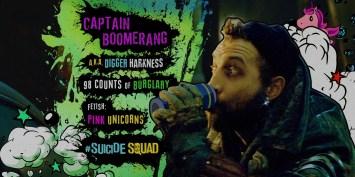 Suicide Squad - Captain Boomerang bio