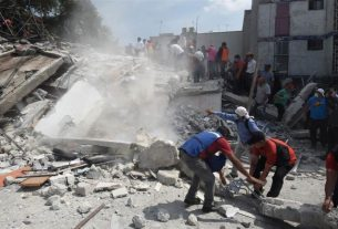 Huge Earthquake Hits Mexico: Topples Buildings, Over 200 Dead